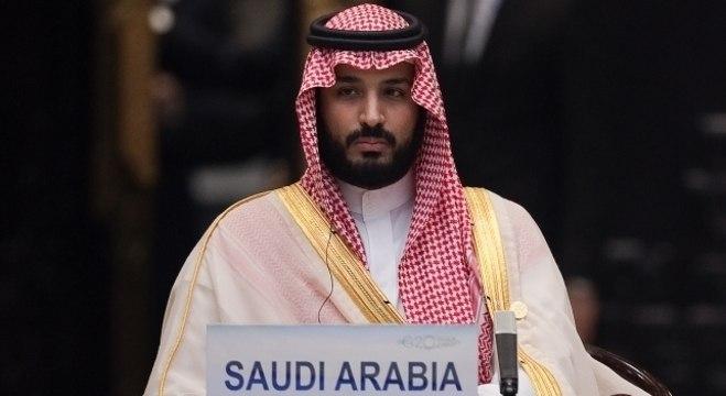 O príncipe Mohammed bin Salman, da Arábia Saudita