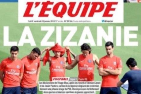 Jornal L'Équipe destaca confusão entre jogadores