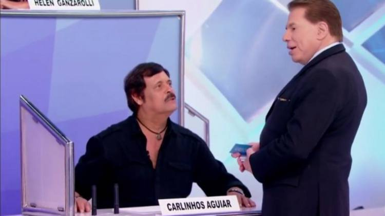 Carlinhos Aguiar volta a trabalhar com Silvio Santos