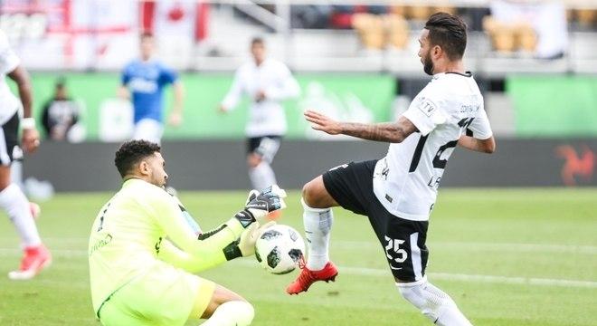 Corinthians, do atacante Clayson, não tem mais chance de título na Florida Cup