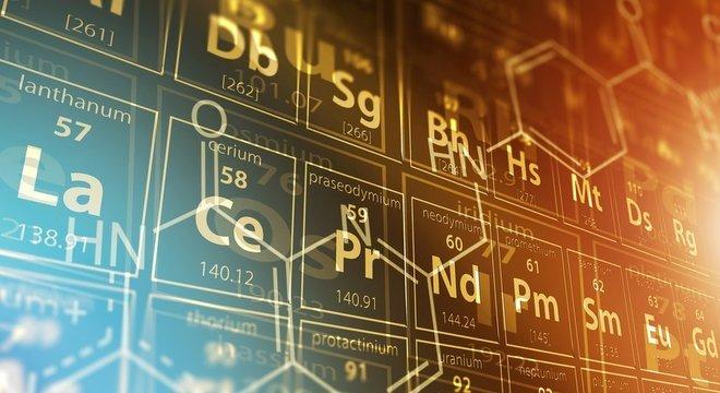 A tabela periódica foi criada pelo químico russo Dimitri Mendeléiev em 1869