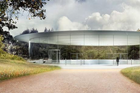 Anfiteatro Steve Jobs foi inaugurado em 2017