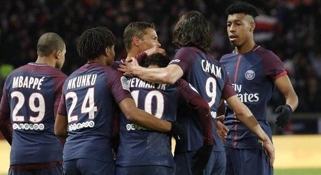 Neymar liderou a vitória do Paris Saint-Germain por 8 a 0 3960eca28a4e2