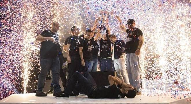Team oNe e-Sports foi campeã da segunda etapa no ano passado