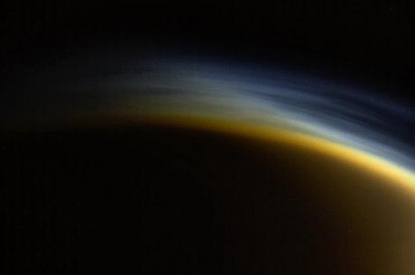Imagem do espaço feita pela NASA