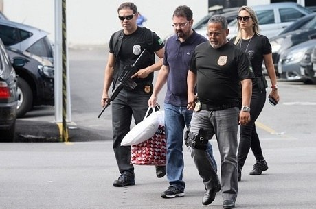 Alexandre Pinto foi levado para a PF