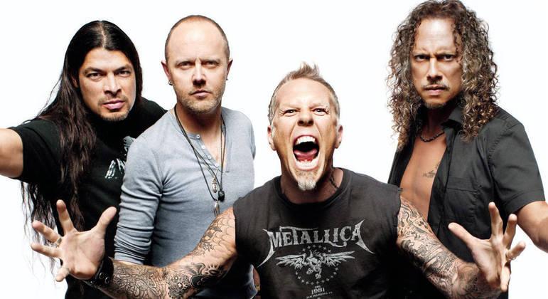 Metallica faria a 10ª apresentação no Brasil em 2020