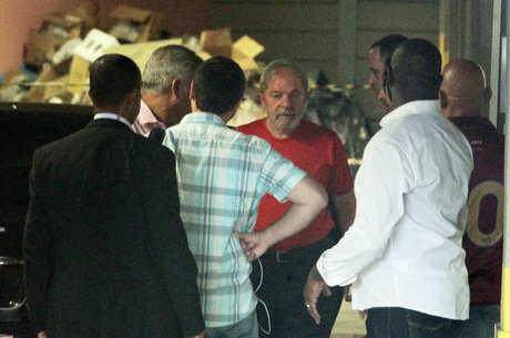 Lula assistiu ao julgamento no Sindicato do ABC