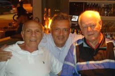 Guy, com os mágicos Amaury e Wlamir