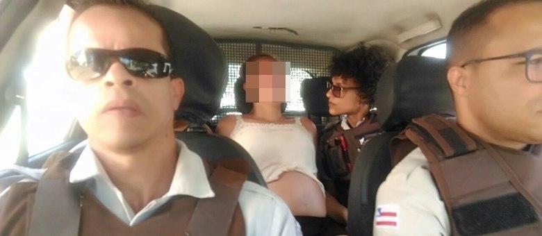 Daniela foi levada para o Hospital Sagrada Família, onde foi atendida