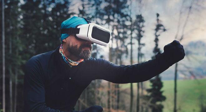 Tecnologia com uso de óculos permite imersão total em ambientes digitais