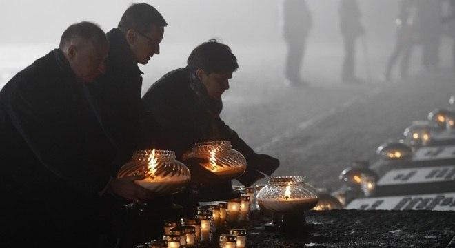 Ato em Auschwitz em 2018 homenageou vítimas do nazismo