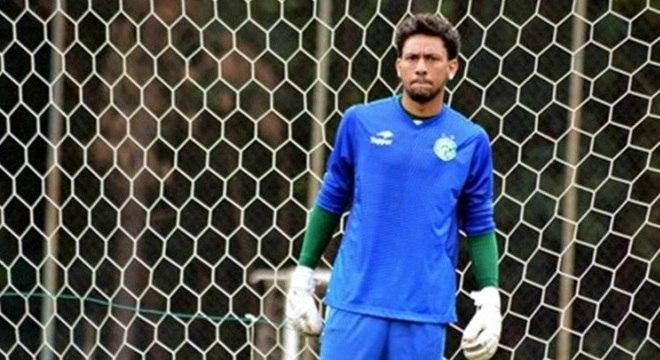 O goleiro Wallace, reserva do Guarani, que disputa a Série A2 do Paulistão