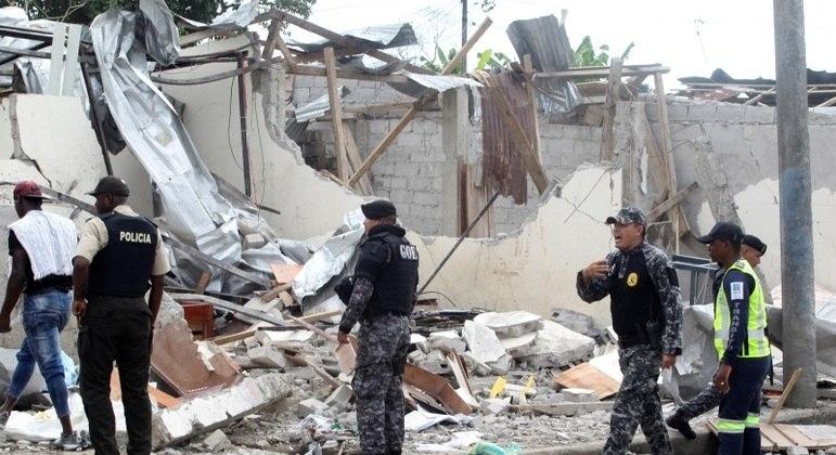 Condenados faziam parte de grupo que explodiu prédio da polícia do Equador em 2018