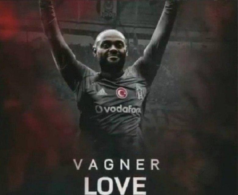 Com bom humor, Besiktas anuncia Vagner Love, que Flamengo queria