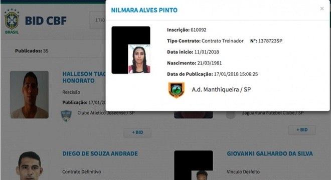 Nilmara voltou ao seu clube e foi a primeira treinadora a ter seu contrato no BID