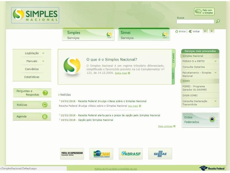 Prazo para adesão e enquadramento das empresas termina amanhã — Simples Nacional