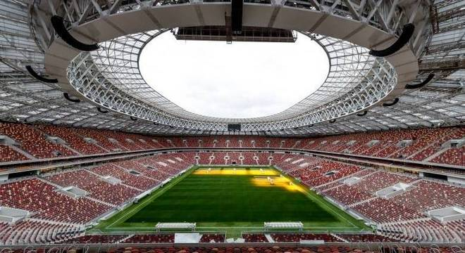 Brasil enfrenta Rússia em março no estádio da final da Copa do Mundo ... b353d81293c02