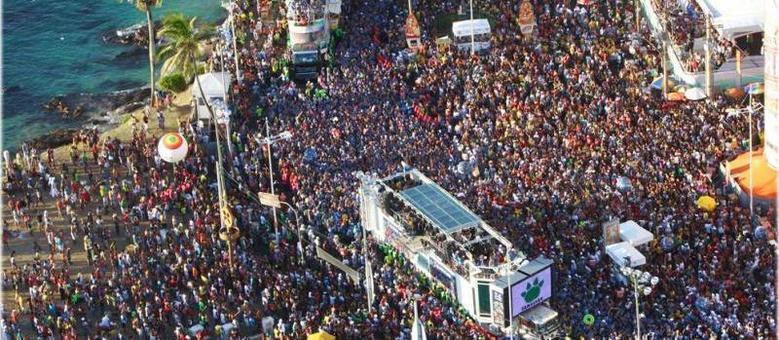 Carnaval de Salvador é considerada a maior festa de rua do planeta