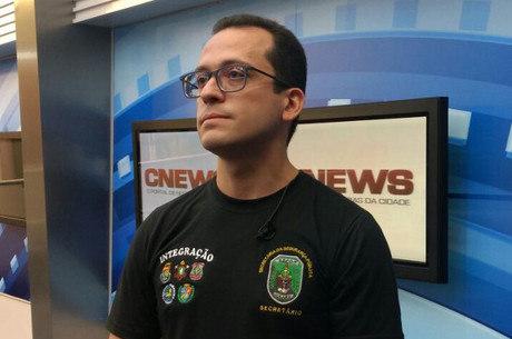 O secretário de Segurança do Ceará, André Costa