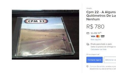 O 1º CD do CPM 22 vale um dinheirão