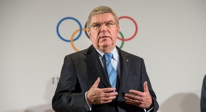Thomas Bach, o presidente do COI, estaria na mira das autoridades americanas