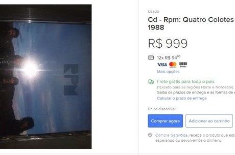CD raro do RPM chega a custar quase mil reais