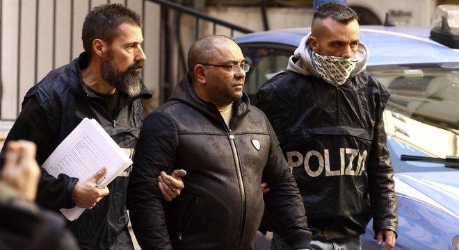 A polícia prendeu neste mês Carmine Spada, apontado como um dos chefes da máfia italiana