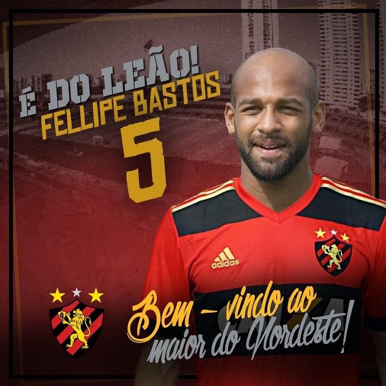 Grato, volante Fellipe Bastos se despede do Corinthians em rede social