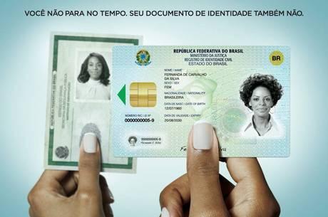 Nova identidade nacional estará disponível a partir de julho