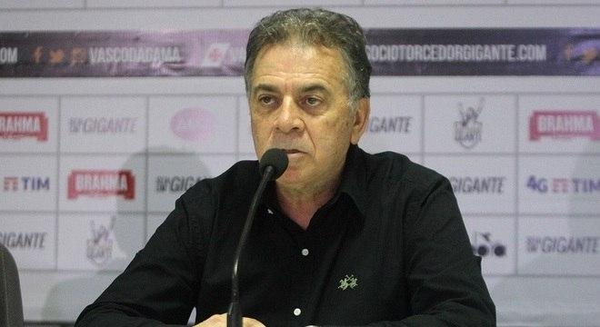 Paulo Pelaipe foi anunciado como executivo do Vasco na semana passada
