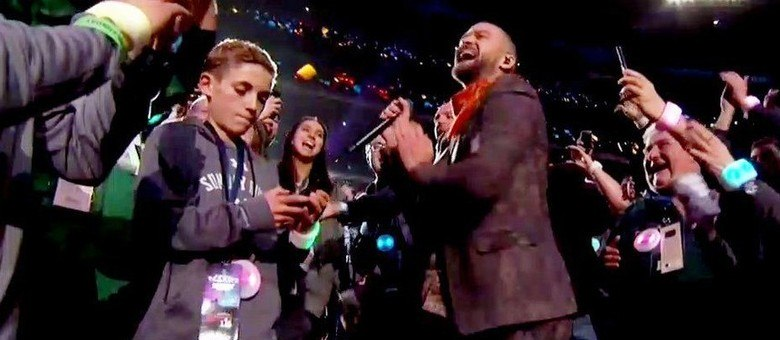 Selfie com Justin Timberlake?