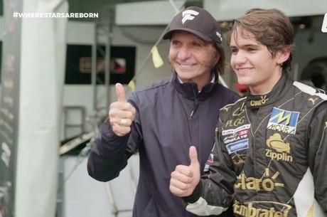 Emerson Fittipaldi e Pietro Fittipaldi
