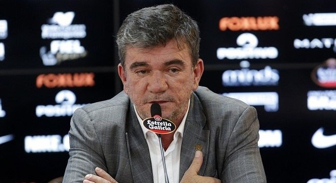 Andres sanchez, presidente do Corinthians