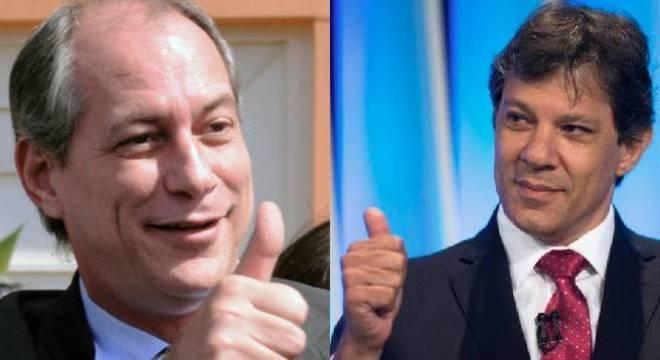 Candidatura Ciro-Haddad já é ventilada