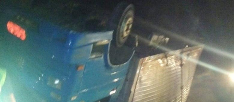 Por sorte, os condutores não tiveram  ferimentos