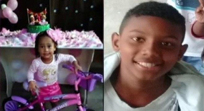 Emily e Jeremias foram mortos nesta terça-feira na zona norte do Rio