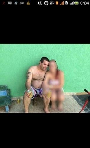 Foto de Oscar, suposto traficante, em celular de policial civil