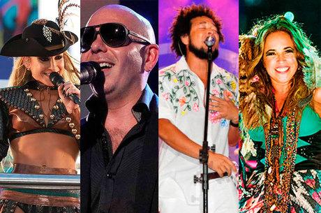 A abertura será feita com a cantora Claudia Leitte e o rapper norte-americano Pitbull, a partir das 17h