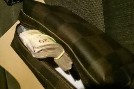 Suposto dinheiro de propina de policiais