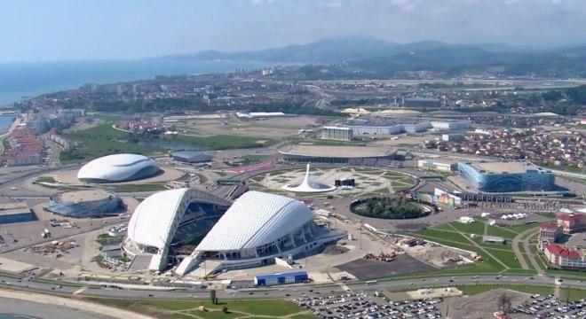 A cidade de Sochi, na Rússia, será a sede do Brasil na Copa de 2018