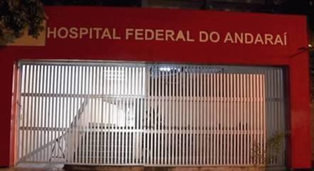 Pacientes com covid-19 ficarão no Hospital do Andaraí