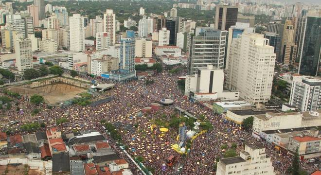 Carnaval paulistano de rua deve crescer 60%; na foto, Largo da Batata