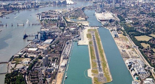 Aeroporto às margens do Tâmisa vai ser ampliado para atender 30 mil voos anuais a mais