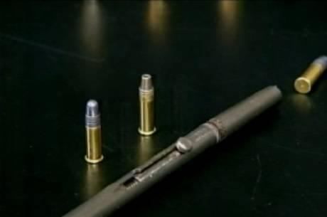 """""""Caneta-revólver"""" é considerada uma arma letal"""
