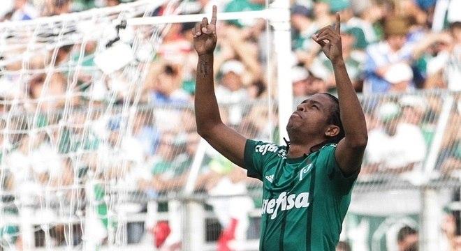 A carreira de Keno decolou após a chegada ao Palmeiras, no ano passado