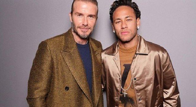 Neymar já deixou Beckham para trás. Há muito tempo
