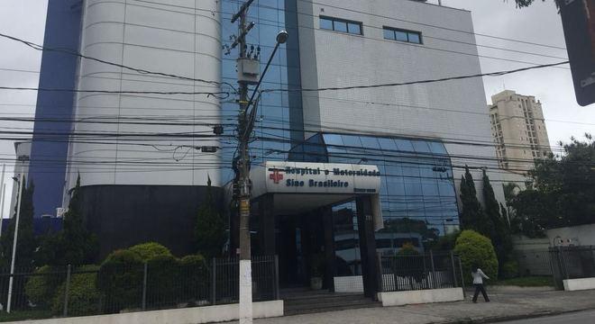 Me e filha foram transferidas para o Hospital Maternidade Sino Brasileiro