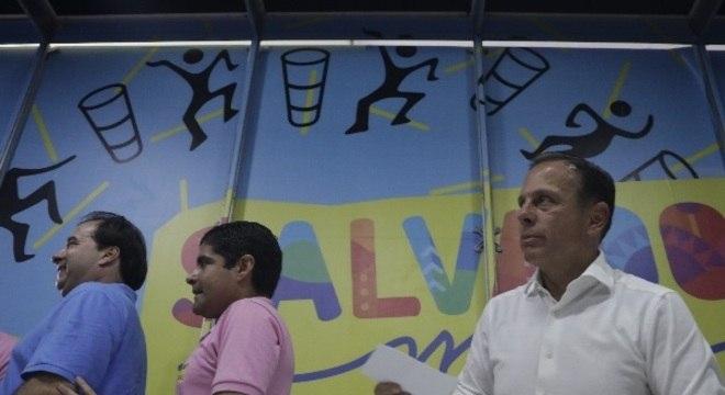 Doria falou sobre filiação durante  carnaval de Salvador