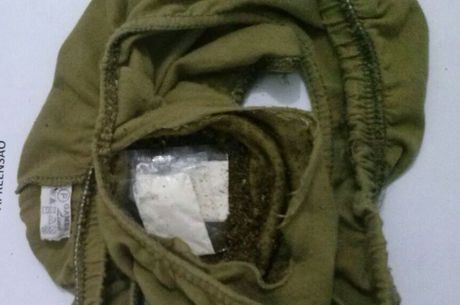 Irmão de preso tentou levar drogas em cueca